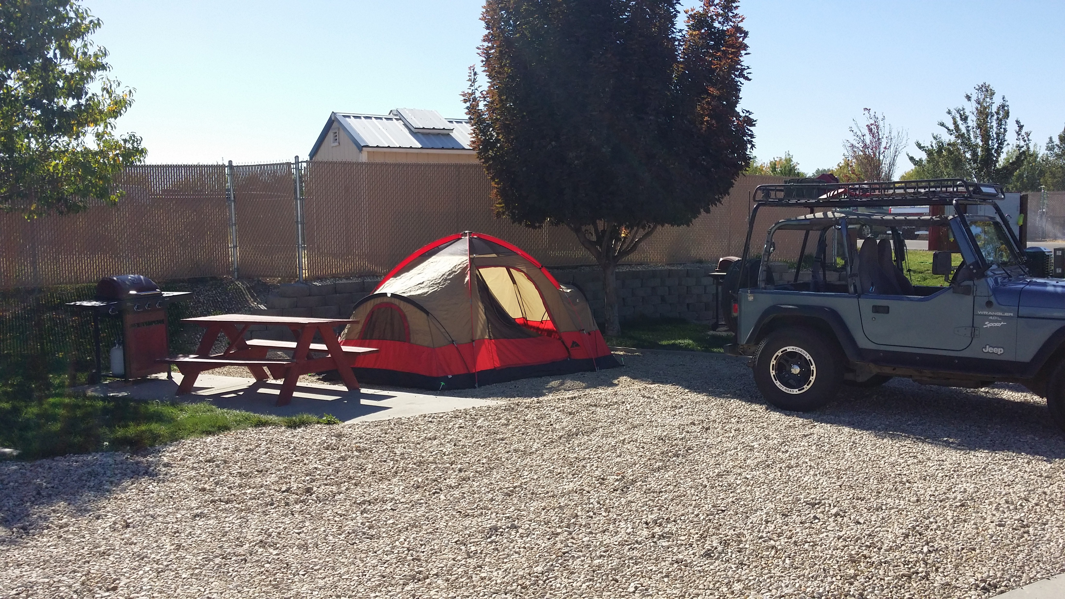 full hookup campgrounds in idaho