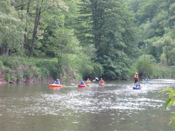 Rafting, Canoeing, and Fishing