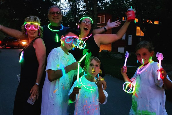"Labor Day ""Let's GLOW Crazy!"" Photo"