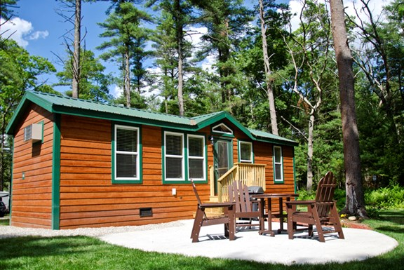 NEW! Deluxe Cabins