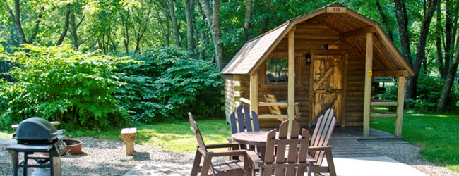 Camping Cabin amenities