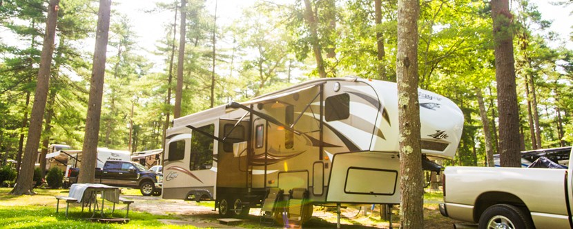 You will love our wooded RV Sites