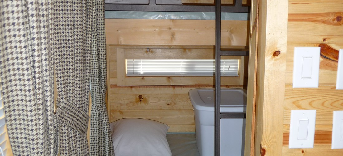Kids will love the bunks!