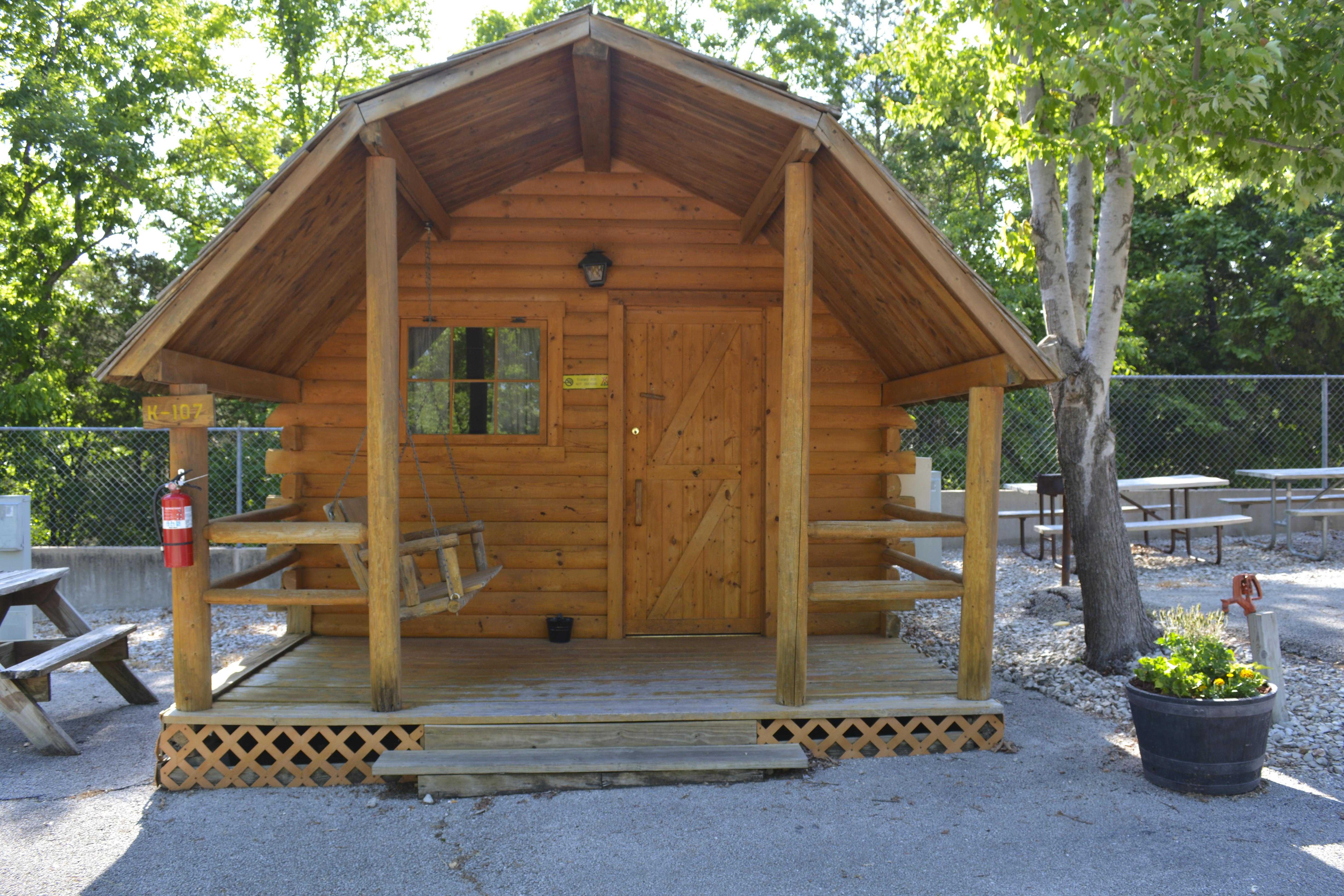 by koa cabin branson camping youtube look cabins a inside watch rv deluxe education