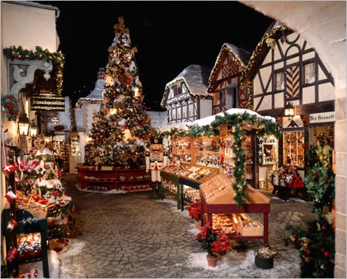 Yankee Candle Company and Bavarian Christmas Village