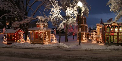 CHRISTMAS VILLAGE IN OGDEN