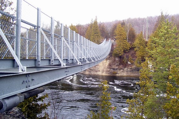 Ranney Gorge Suspension Bridge