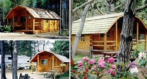 2 Room Camping Cabin