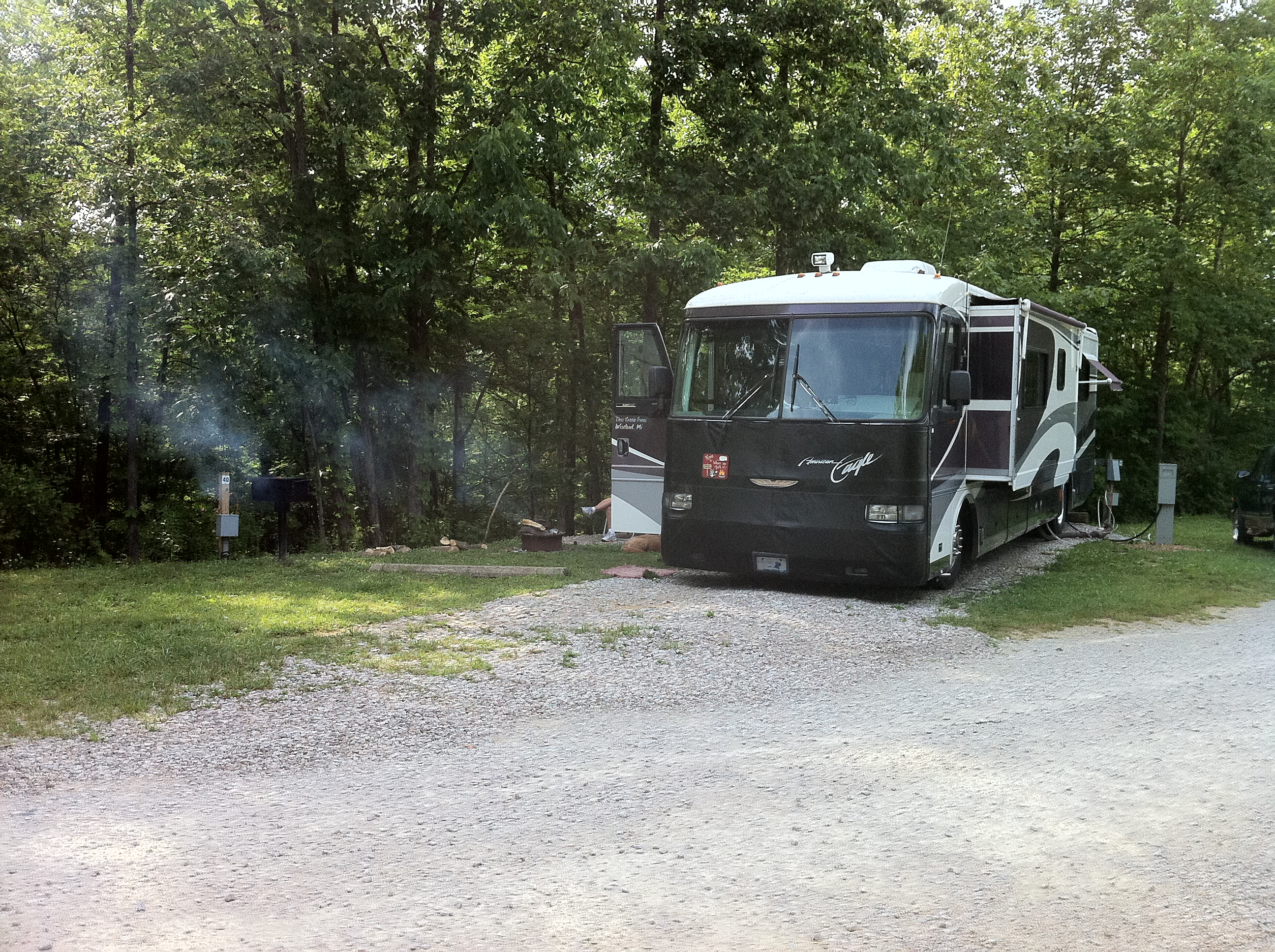 rv camping brown county indiana