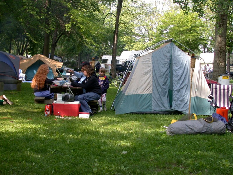 Buckeye Lake, Ohio Tent Camping Sites | Buckeye Lake ...
