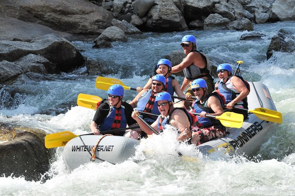 Rafting on the Arkansas River