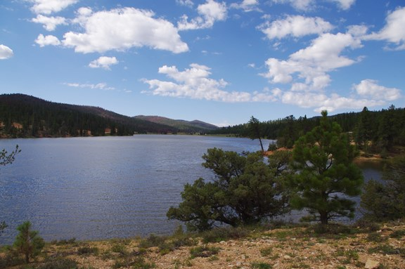 Canoeing in Tropic Reservoir and Pine Lake