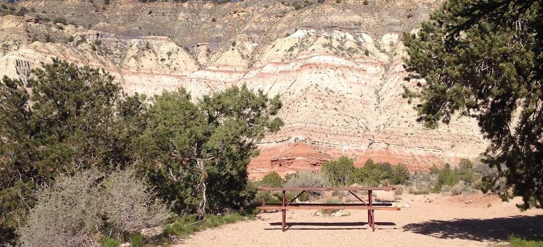 Tent Sites that Allow You to Camp Among the Cliffs - Upper Grounds