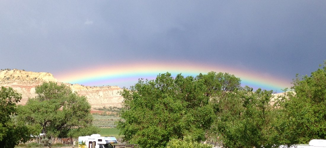 RVing and Searching for Pots of Gold