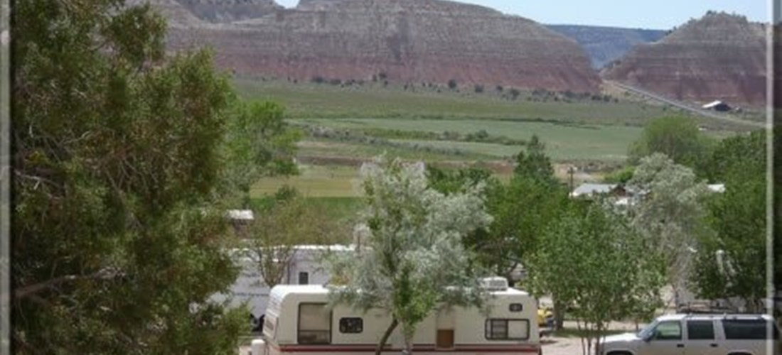 RV Sites in the Lower Grounds