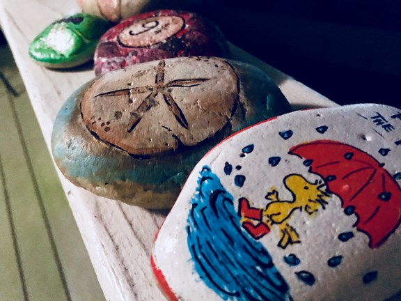Rock'in at Koa (Rock Painting)