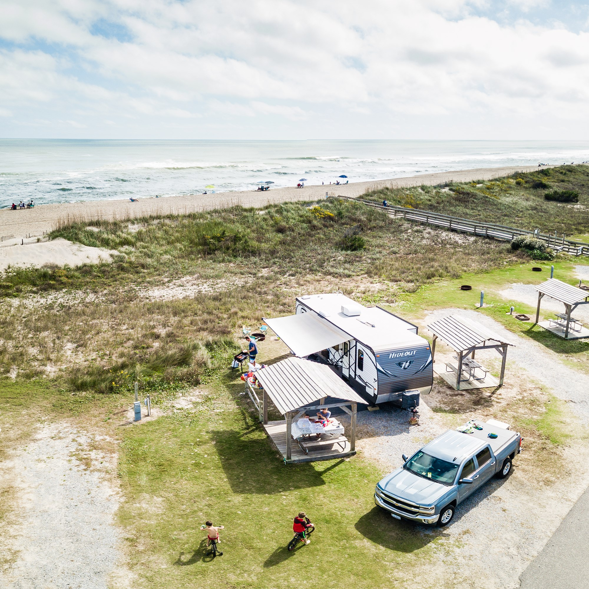 Campground Map | Cape Hatteras / Outer Banks KOA Resort