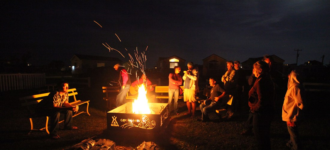 Sing a long at the Campfire experience