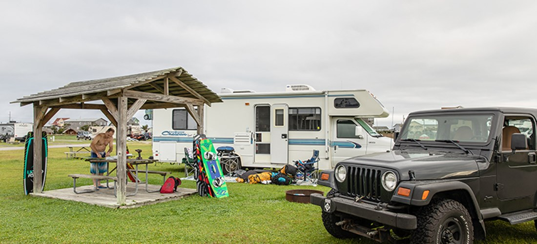 RV Shade Shelter