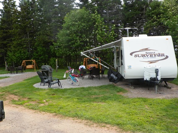 Deluxe RV Patio Site