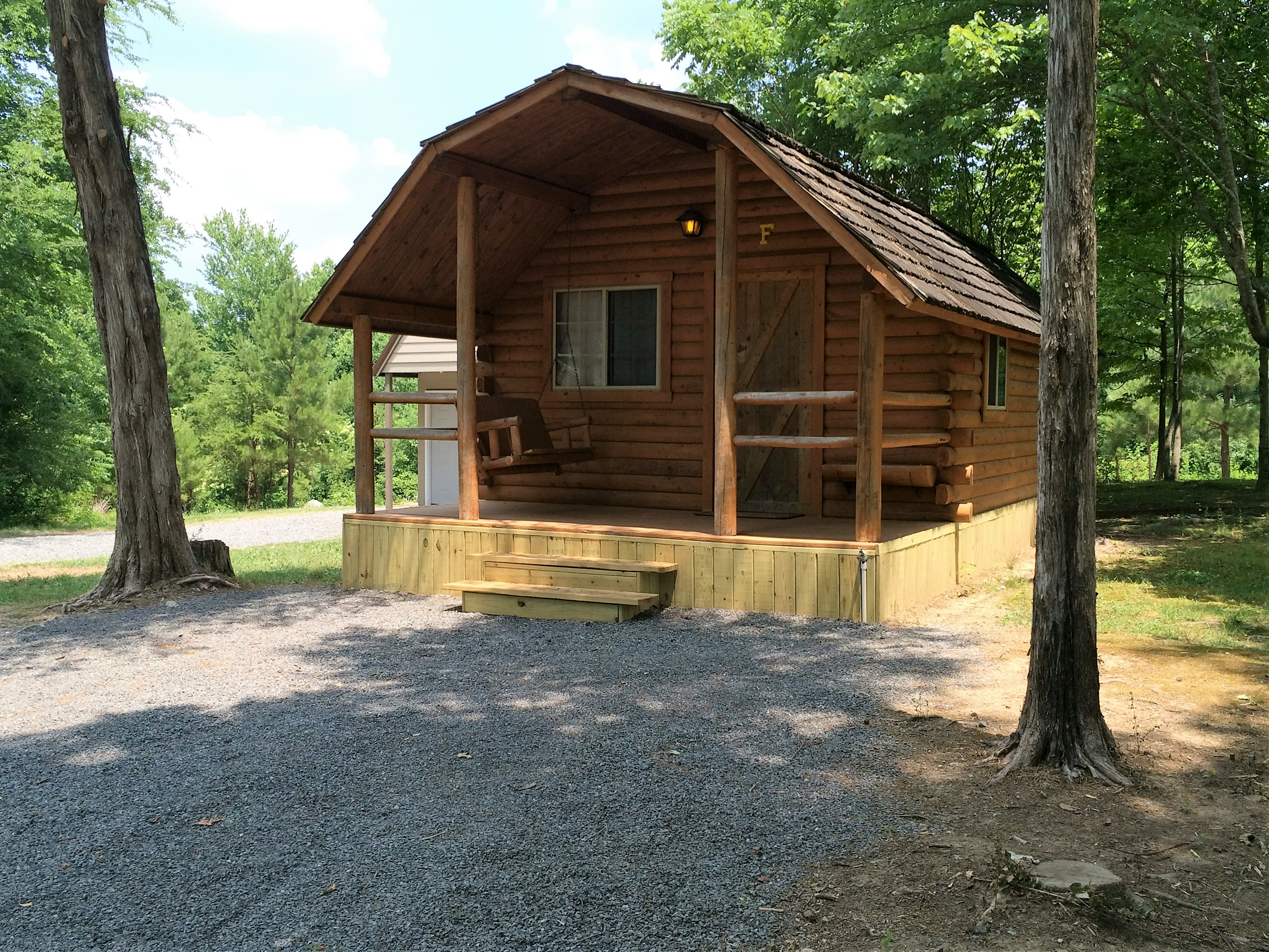 cabins near west chattanooga koa georgia reviews mountain campsite img lookout mountainchattanooga