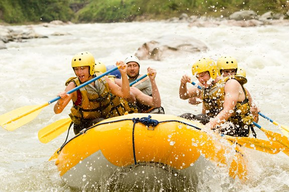 Whitewater Rafting on the Tuckasegee River