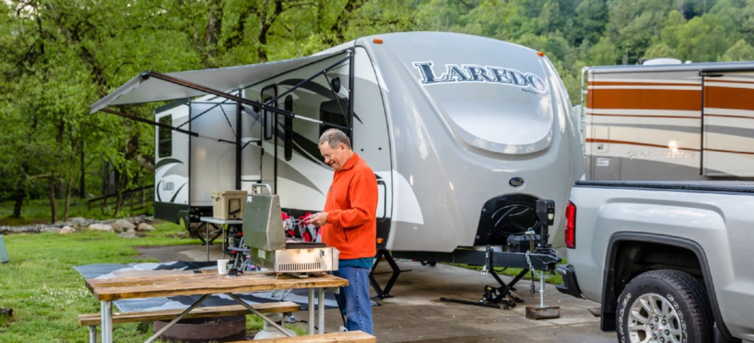 RV Campground in Cherokee, NC and Great Smoky Mountains   KOA