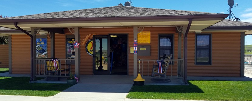 Welcome to the Cheyenne KOA