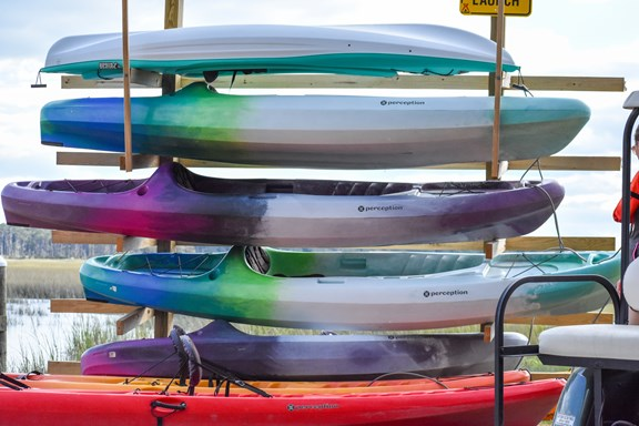 Kayak and Paddle Board Launch