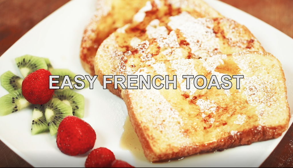 Recipe Video: Easy French Toast