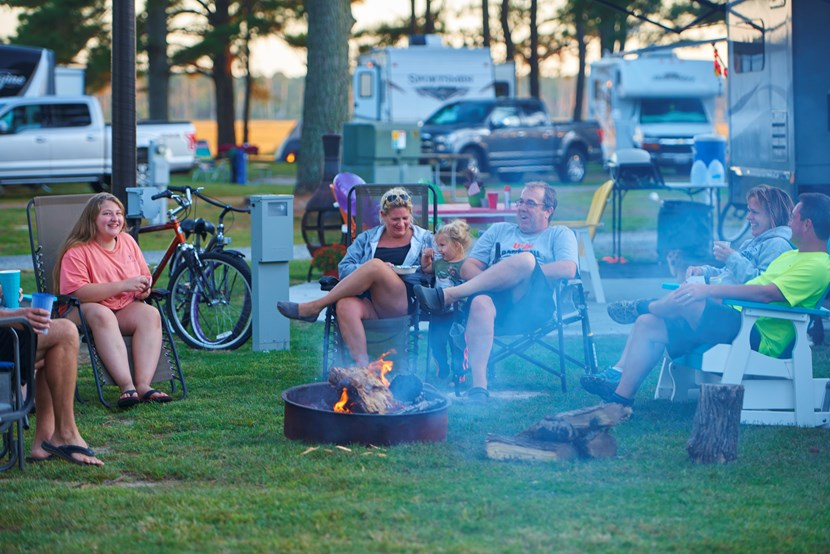 Make the most of family time with a seasonal site at Chincoteague Island KOA.