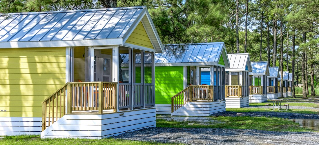 Chincoteague Island KOA Island Bungalows