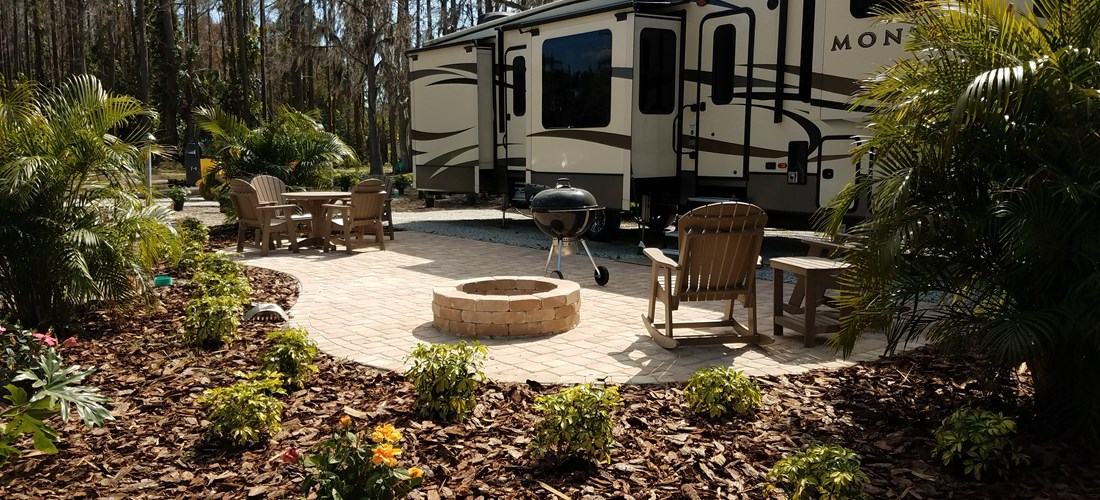 Full Hook Up Deluxe Patio Site