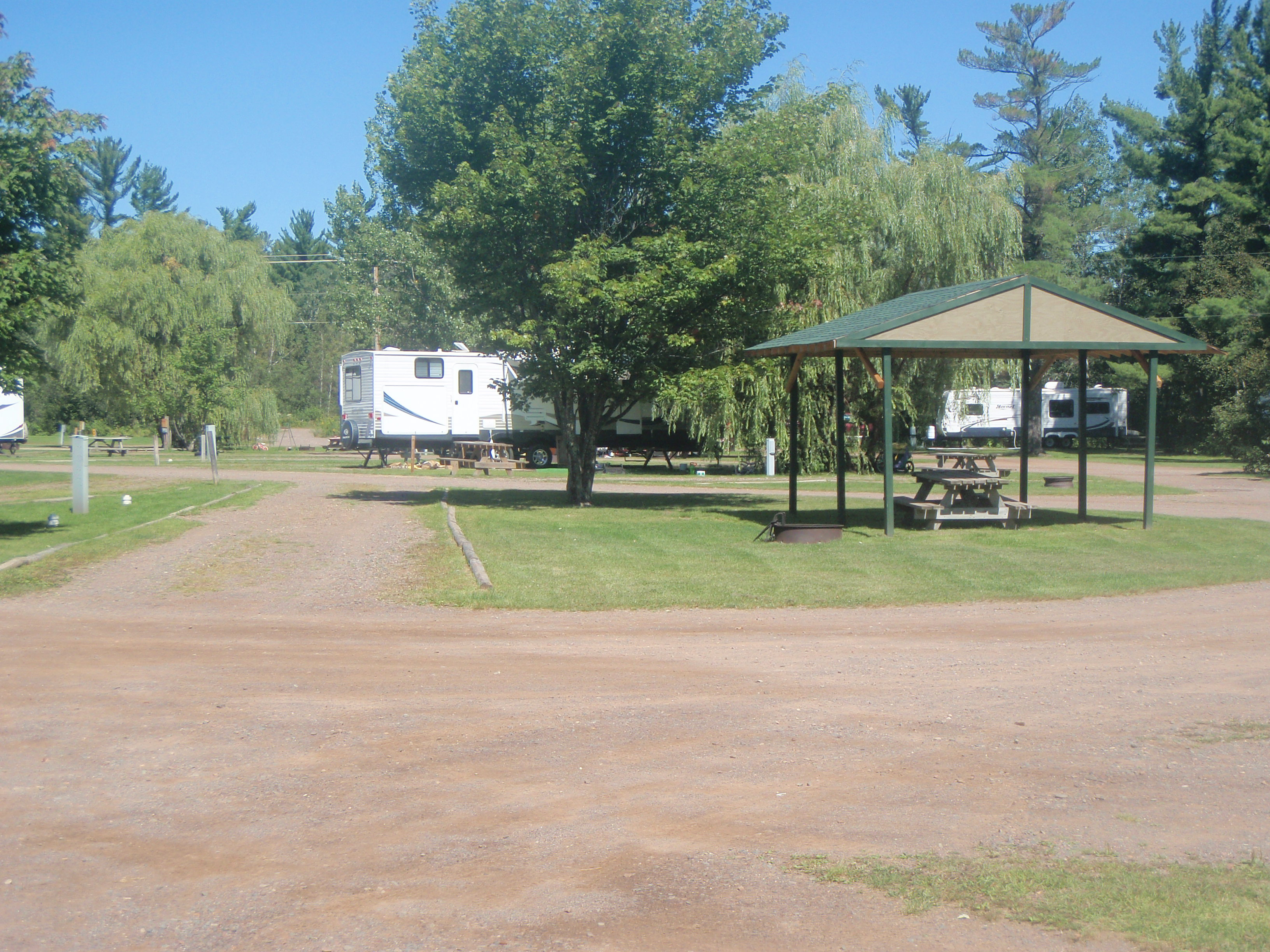 Full hookup campgrounds near duluth mn