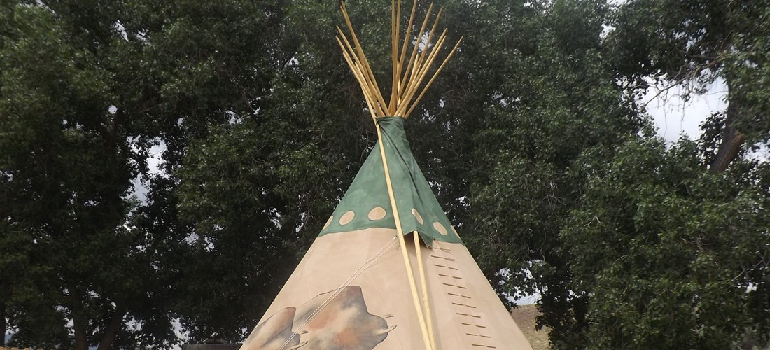 Enjoy our Teepee's!