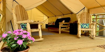 Luxury Glamping Tent Sites Now Open!