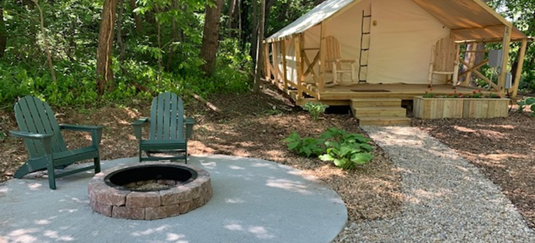Luxury Glamping Tent sites