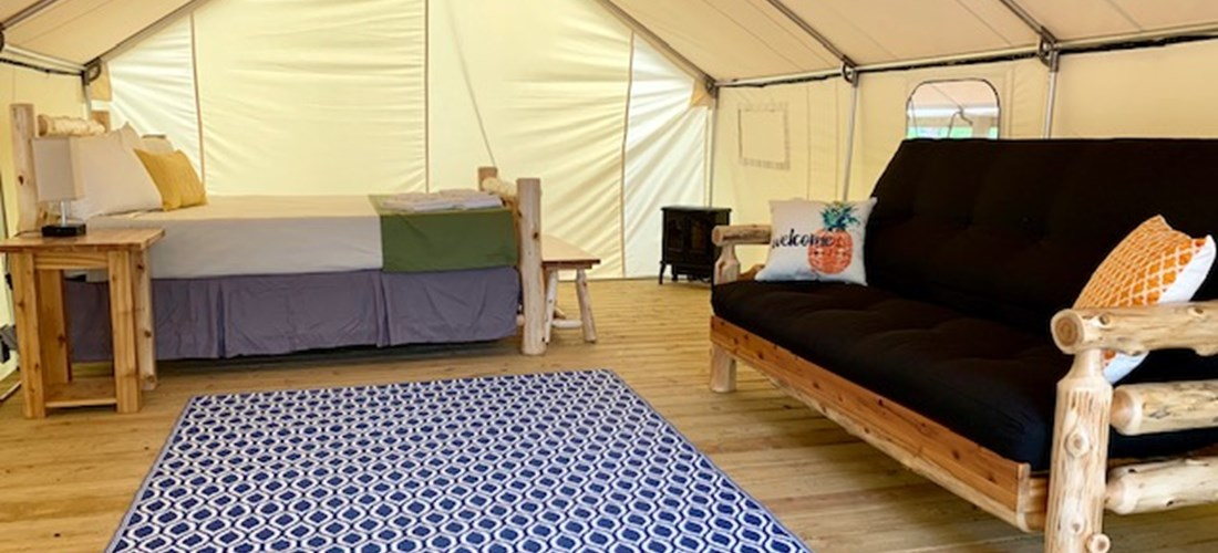 "Luxury ""Glamping"" Tent Site"