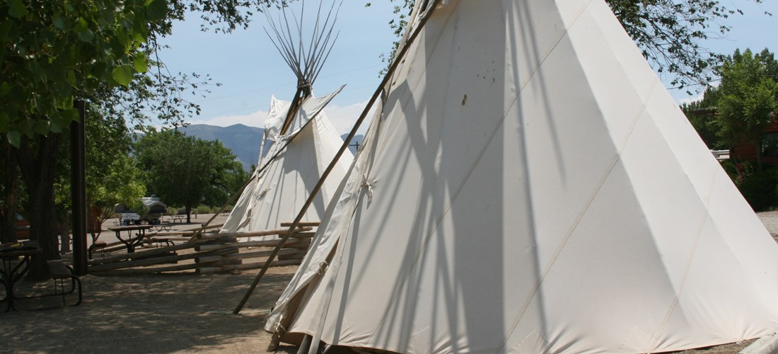 Teepee Exterior View