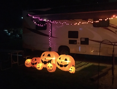 RV Decorating Contest - Halloween Weekends