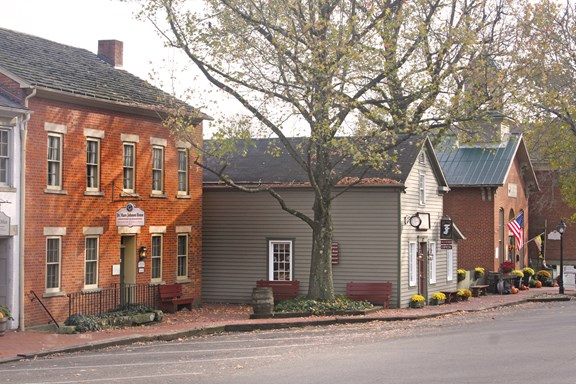 Historic Roscoe Village - an 1830 Restored Canal Town