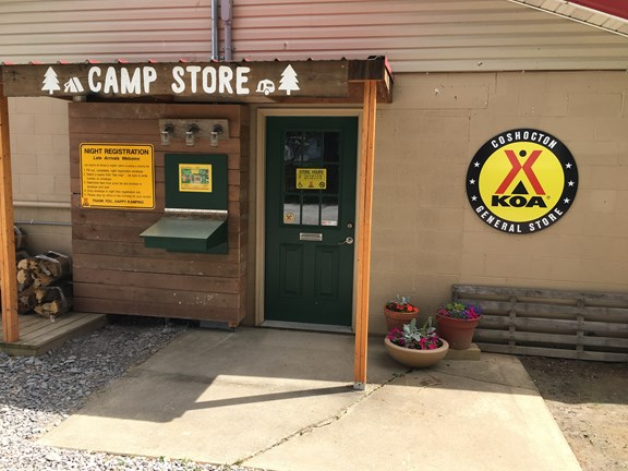 Welcome to Coshocton KOA General Store!