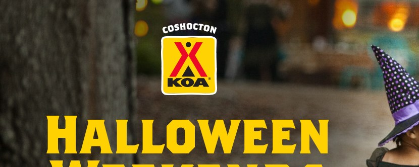 Trick or Treat, RV decorating contest, giant corn maze & more on our Halloween Weekends!