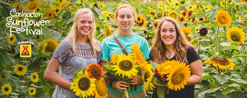 August 16, 17 & 18 - Mark Your Calendars for the 2019 Coshocton Sunflower Festival!