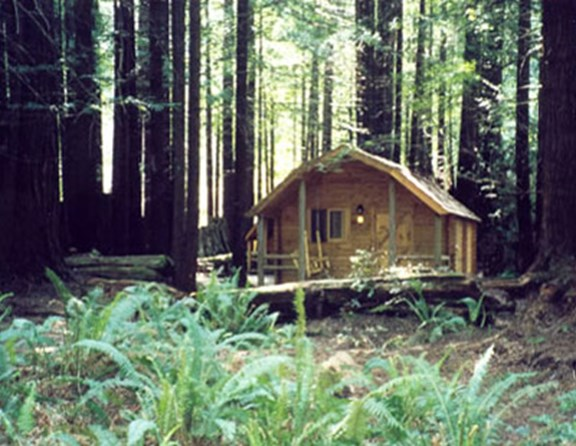 Cabin #10 - one of our most popular 2-room cabins.