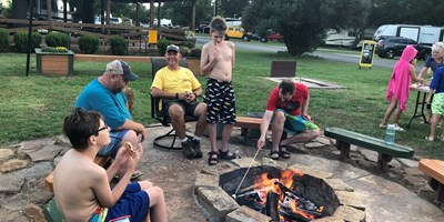 Friday Night Community Campfire 8-9pm