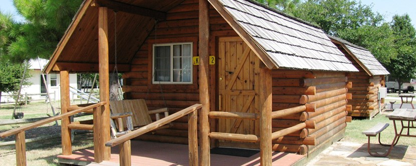 Rustic Cabins great for group events