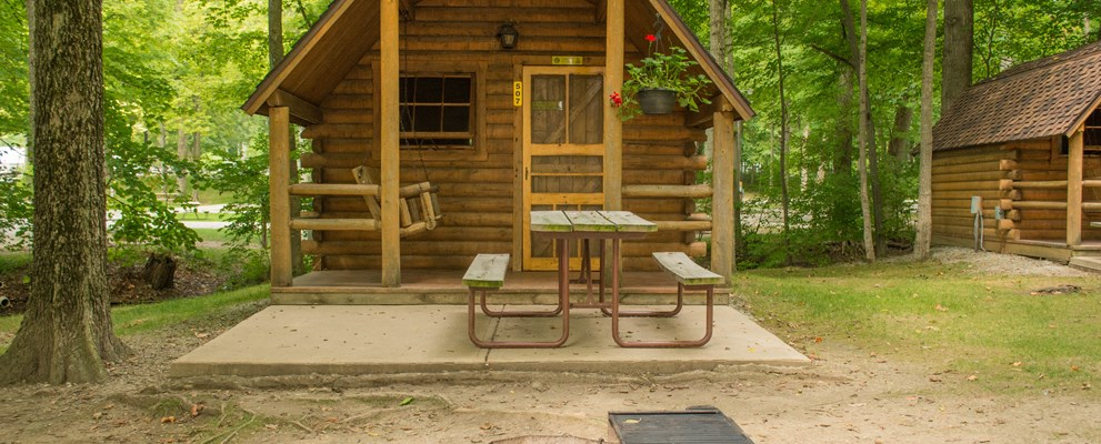 1 Room Camping Cabin