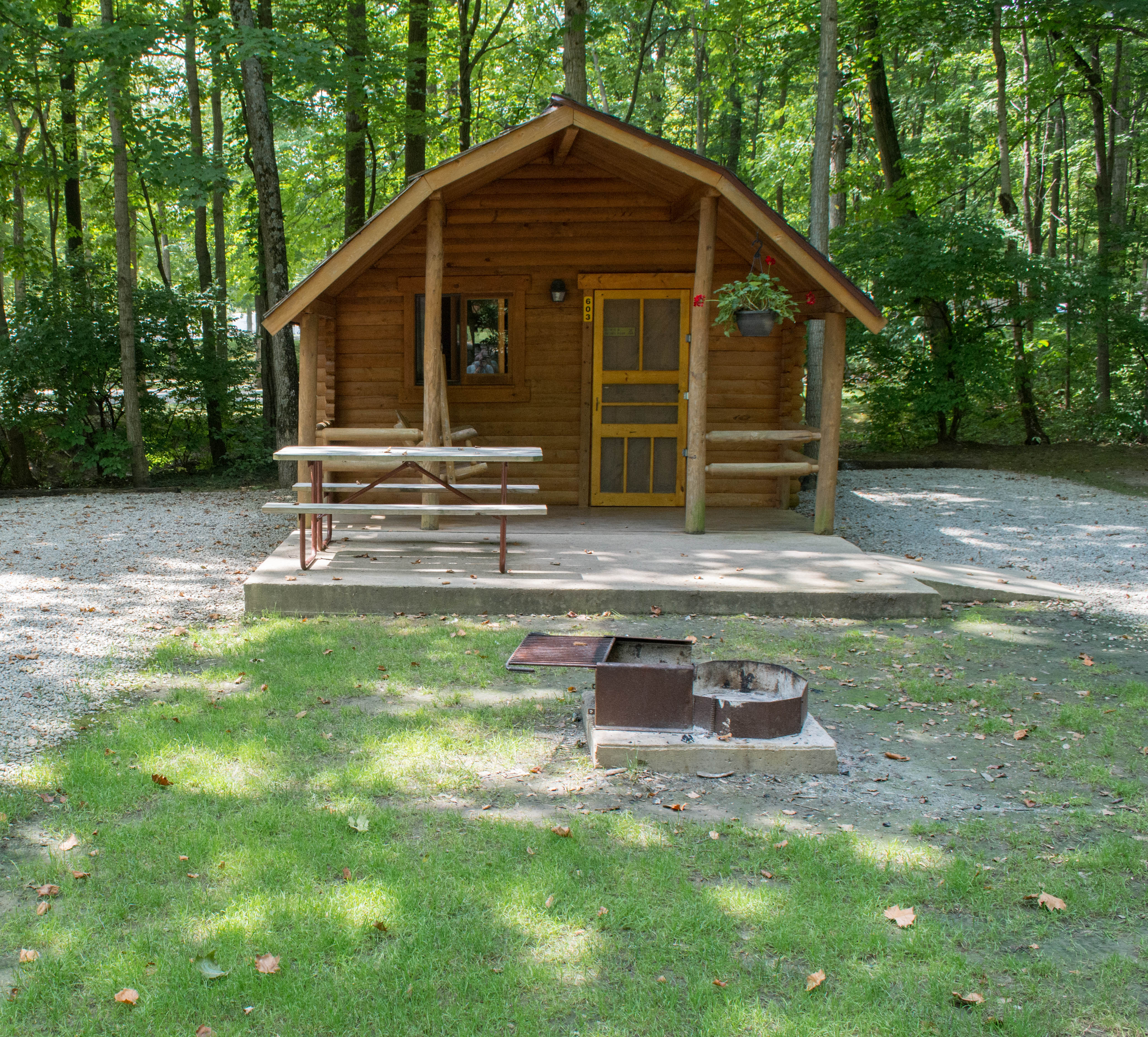 own ohio builds her sylvan lake mom cabin cabins weekend journal adventure on in single a