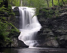 George W. Childs Recreation Site -  Waterfalls